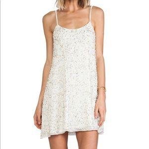 Yumi Kim Beaded Sparkly Dress